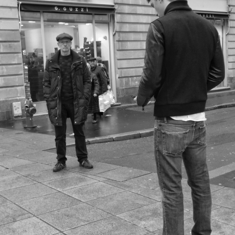 Stand off in Nantes - Fuji X-Pro1